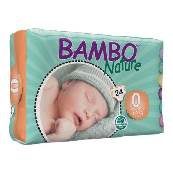 Bambo prem nappies