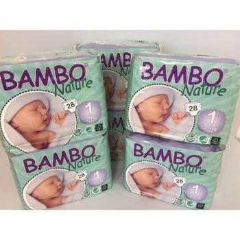 Bambo Nature 1 nappies