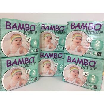 Bambo Size 2 nappies