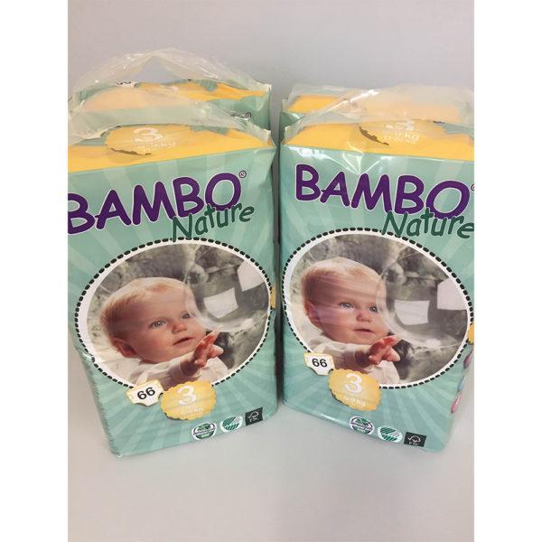 Bambo Size 3 nappies