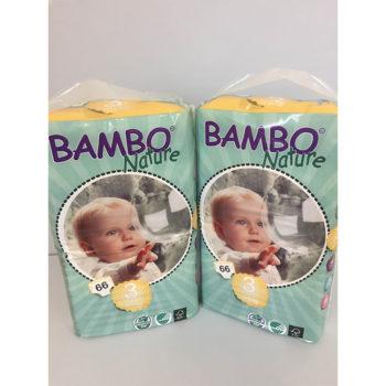 Bambo Nature 3 nappies