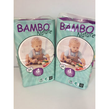 Bambo size 4 nappies