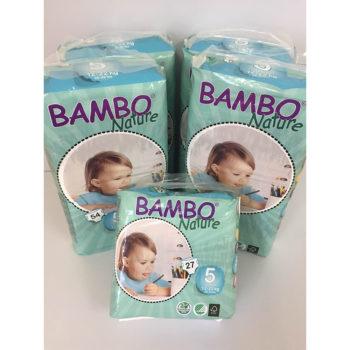 Bambo nappies size 5