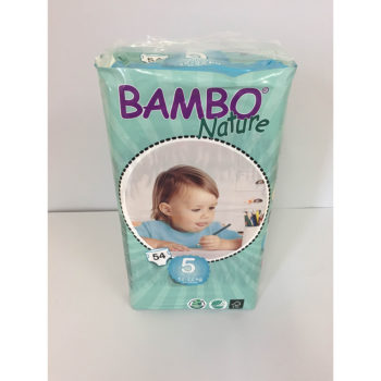 Bambo diapers size 5