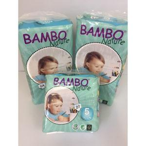 Bambo Size 5 nappies