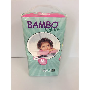 Bambo diapers size 6