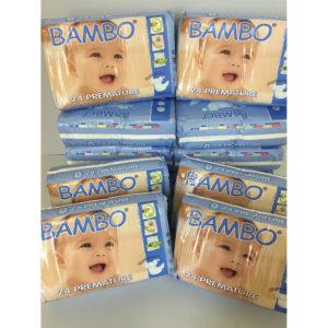 Bambo premature nappies