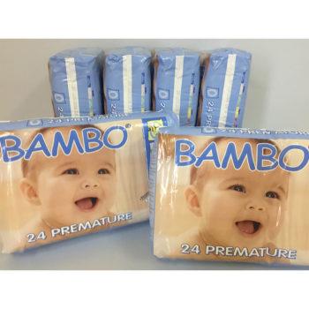 Bambo premature baby nappies
