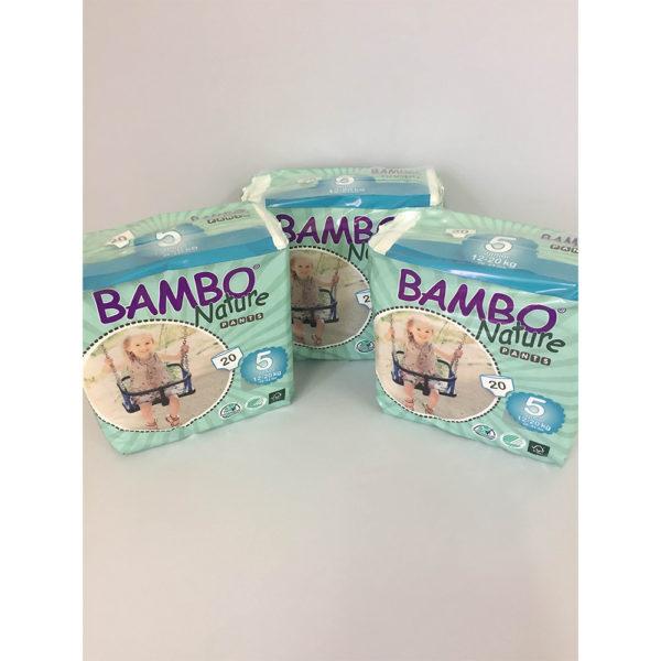 Bambo Nature Training Pants Size 5