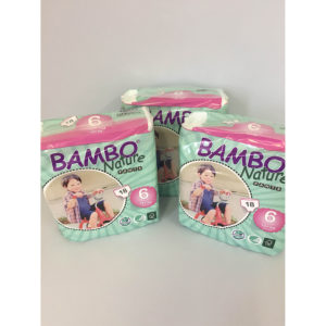 Bambo Nature Training Pants Size 6