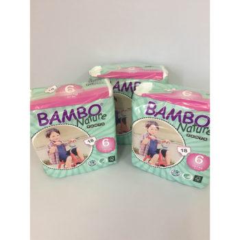 Bambo Nature Training Pants Size 6