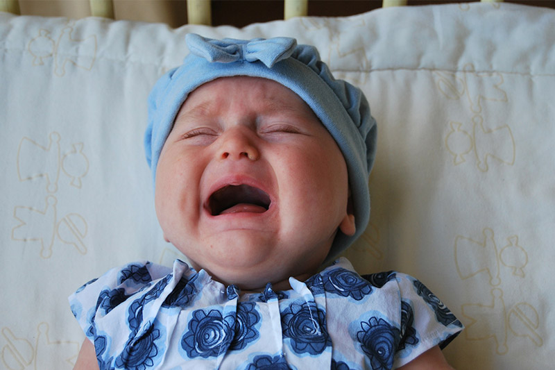 how to stop baby crying