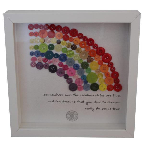 Rainbow gift frame