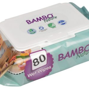 Bambo nature eco friendly baby wipes