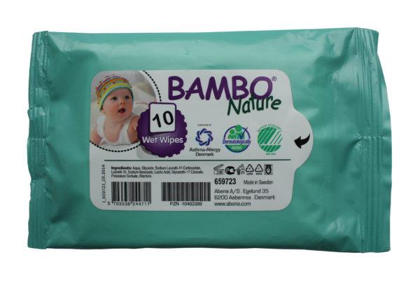 Bambo baby wipes