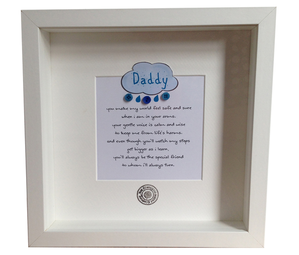 Father's Day gift keepsake frame