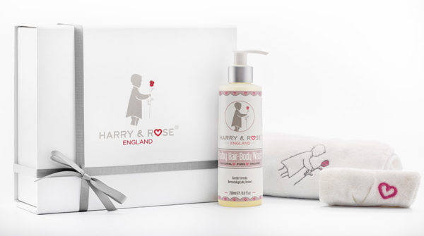 Harry & Rose Baby Bath Gift Set