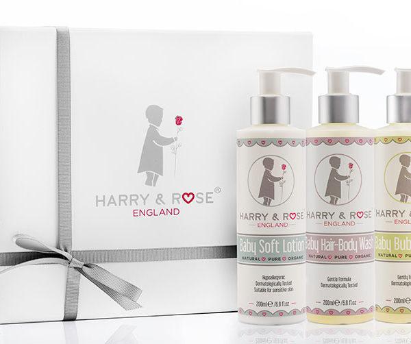 Baby Skin Care Gift Box Set