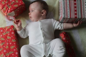Tips to make baby's first Christmas sparkle