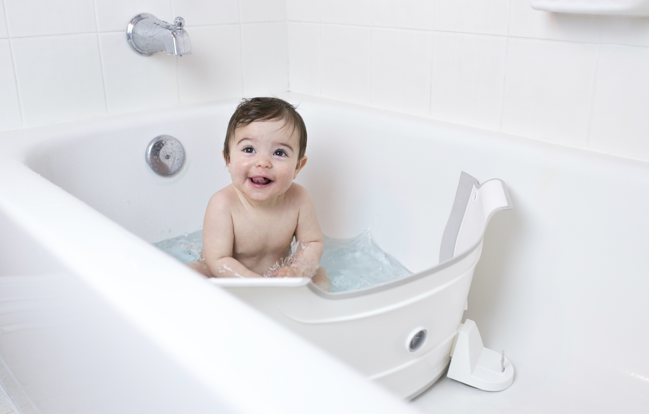 Tailoring your bath to suit your baby