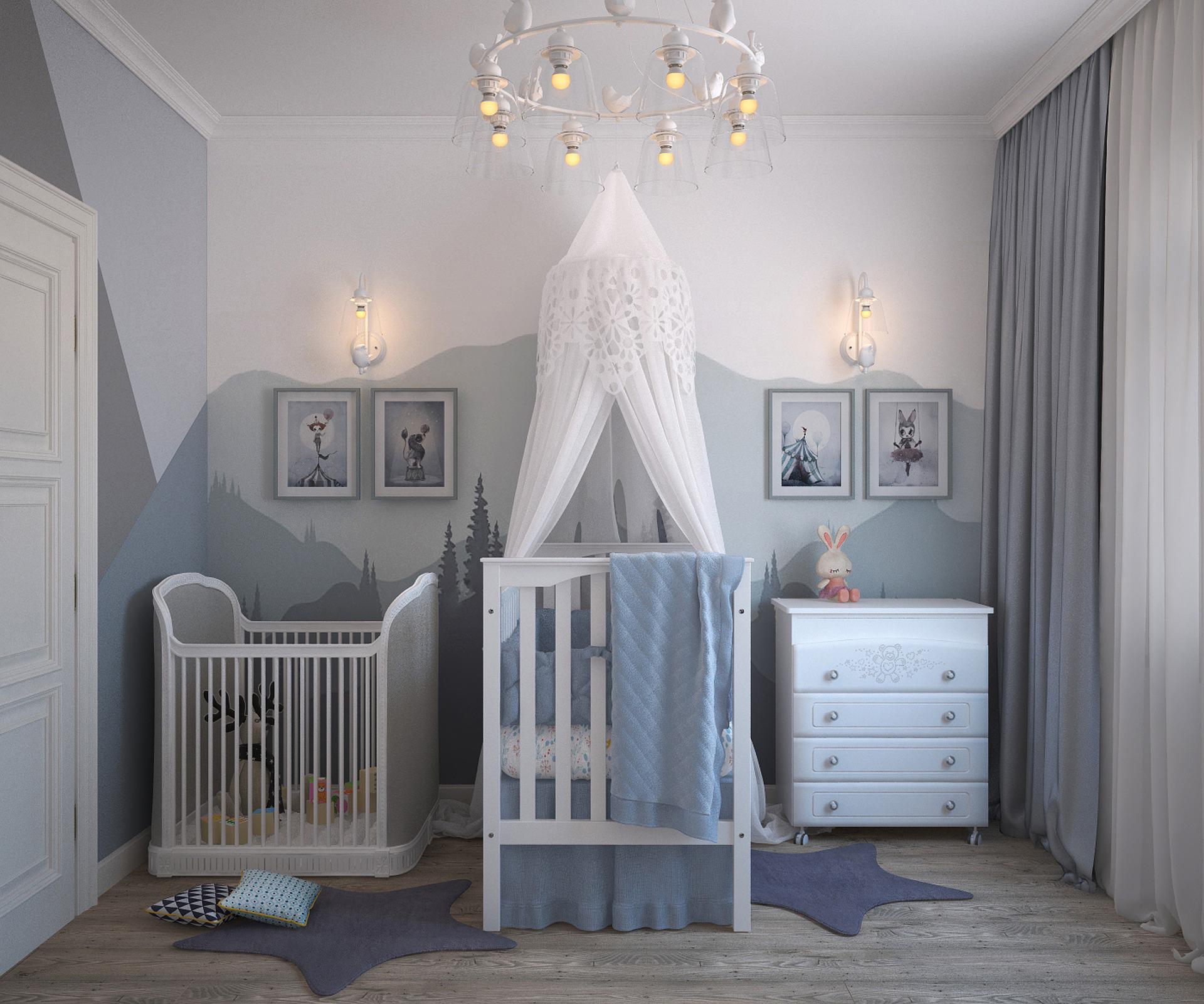 Fairy tale nursery trend 2019