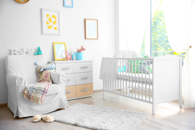 Scandinavian-style nursery