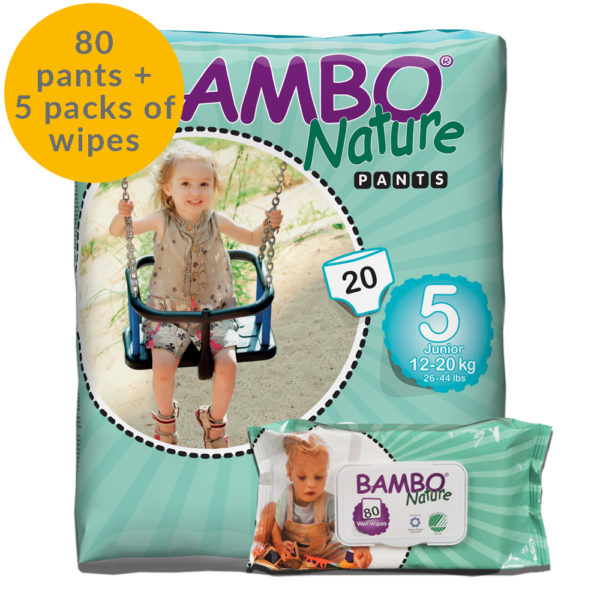 Size 5 training pants. Children's size 5 pull up pants and 5 packs of eco wipes month