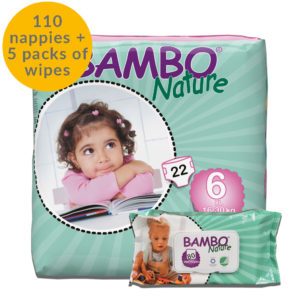 Size 6 Nappies and Wipes