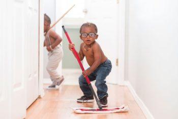 Indoor dust and children's asthma