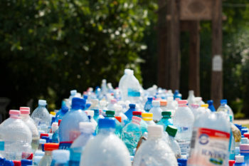 plastic bottles ecobrick recycling