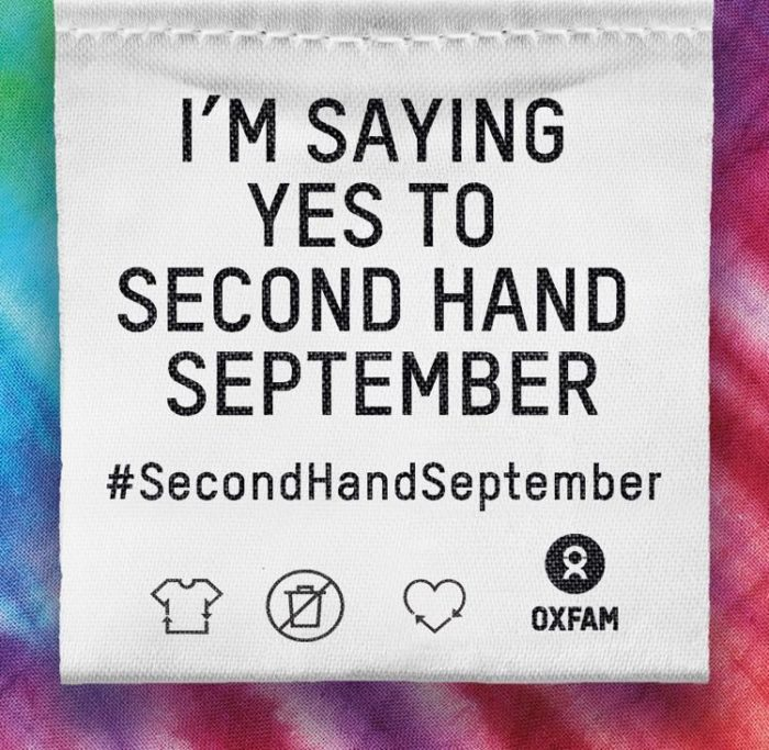 fast fashion second hand september