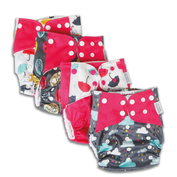 Pink Reusable Nappies